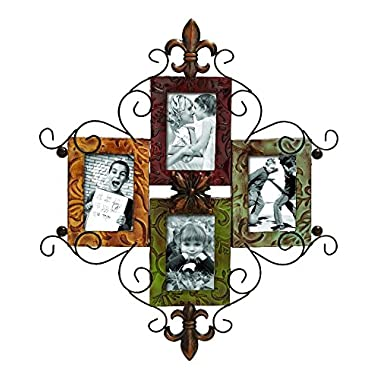 Deco 79 Metal Photo Frame, 24 by 21