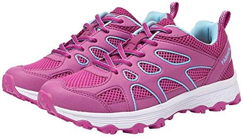 Light Womens Beach Drying Shoes Slip Mesh Aqua Shoes Weight Summer Quick Outdoor Water Swim Rose On PwWqrCP1T