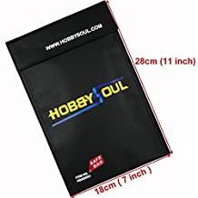 7''x11'' Fireproof pouch Money valuable Document safe bag Fire Resistant material