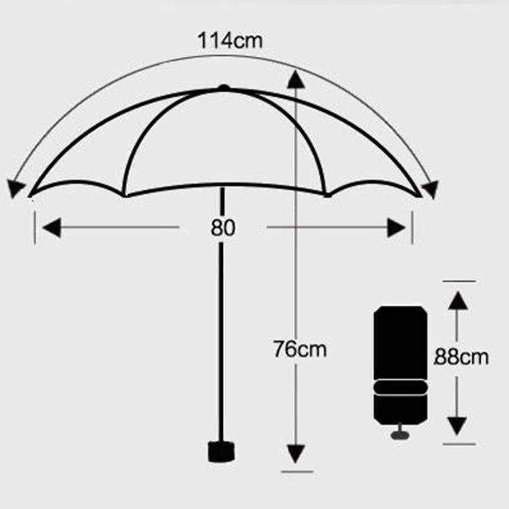 Fcostume Parapluie de Marcher Pluie,Parapluie Transparent de D/ôme Parapluie Mesdames Parapluie