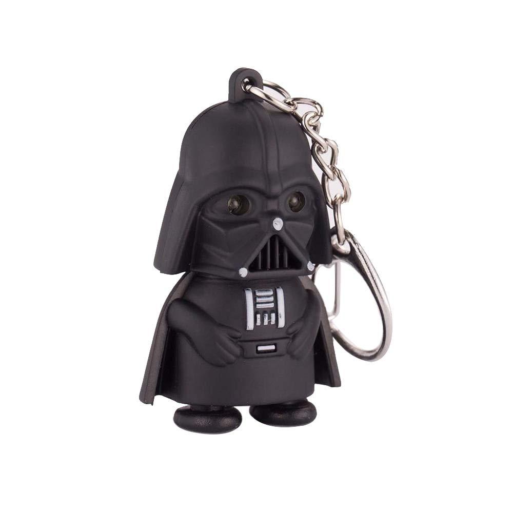 Top Star Wars Llavero Negro Darth Vader Colgante Led Llavero ...