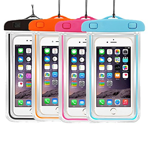 3PackUniversal Waterproof Transparent Submersible Cellphones