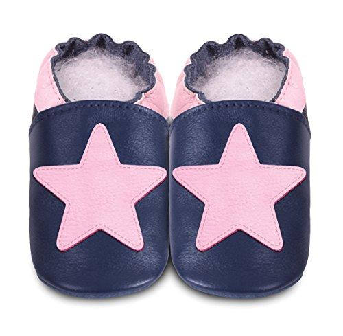 Zapatillas Bebé Estrella marina Talla:0 a 6 meses