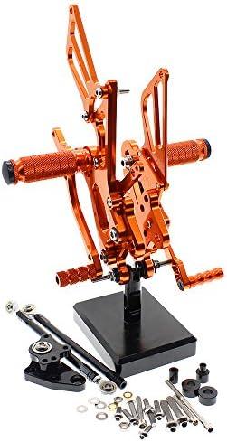 For Honda CBR600RR 2003-2006 Rearsets Rear Sets Footpegs CBR 600 RR Adjustable