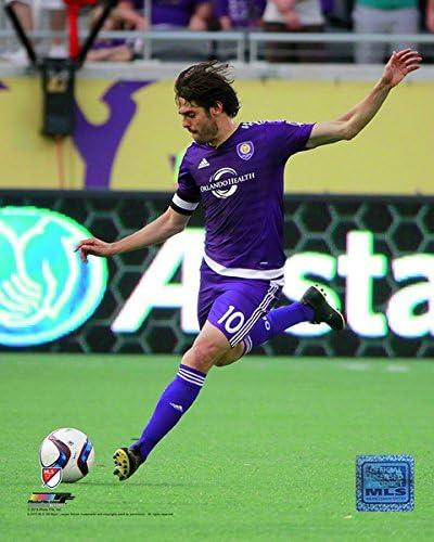 Size: 8 x 10 MLS Ricardo Kak/á Orlando City SC Action Photo