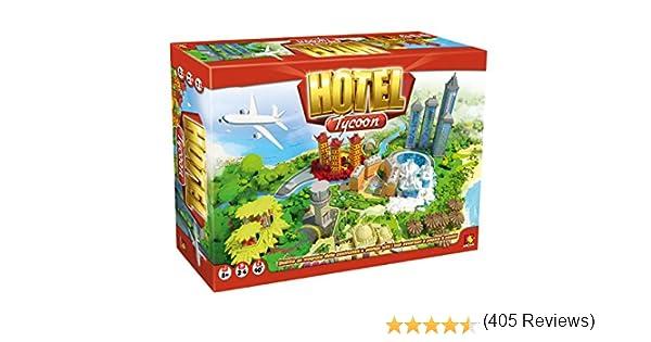 Asterion 8940 – Juegos Hotel Tycoon-[idioma italiano]: Amazon.es: Juguetes y juegos