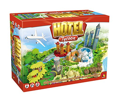 Asterion 8940-Hotel Tycoon Game [English Language Not Guaranteed] (Game Hotel)