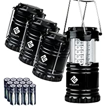 Etekcity 4 Pack LED Lantern for Emergency