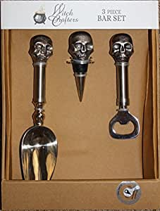 Witch Crafters 3-piece Skulls Bar Set