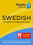 Learn Swedish: Rosetta Stone Swedish - 12 month subscription