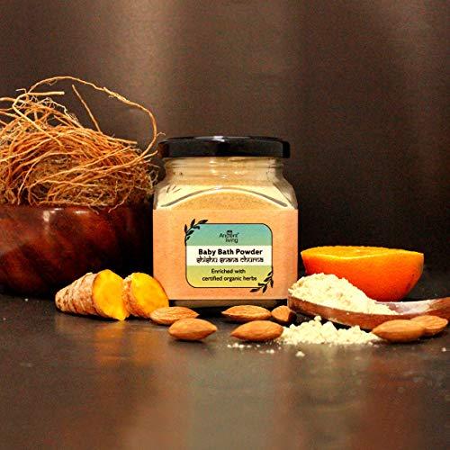 Ancient Living Organic Baby Bath Powder - 100 Grams