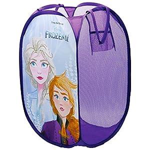 ARDITEX 2 Girls Pop-Up Storage Bin Kids Bedroom Foldable Laundry Basket