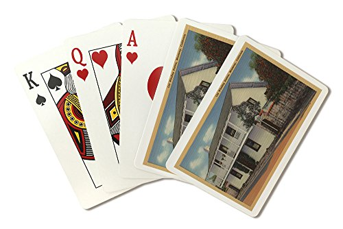 Monterey, California View of Old Whaling Station (Playing Card Deck - 52 Card Poker Size with -
