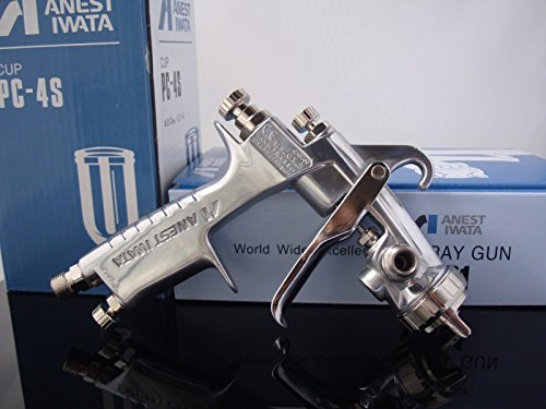 Iwata ANEST Compact Spray Guns W101-152G Gravity Feeds Nozzle φ1.5mm w/t 400ml Cup by Iwata (Image #2)