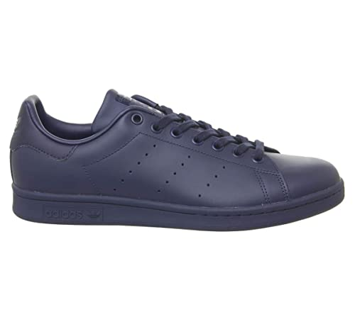 best service 0ec59 54d79 adidas Stan Smith Navy Leather Mono - 4 UK
