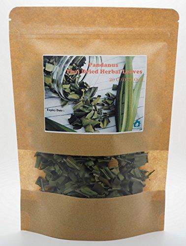 [1 Pack Screw Pine Screwpine Pandanus Thai Dried Herb Herbal Leaves Fragrant Pandan HEALTHY DRINK 1x20G (0.71 Oz.) by Kwantasmile] (Singaporean Costume Kids)