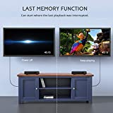 COOAU DVD Player for TV, Region Free Multimedia CD