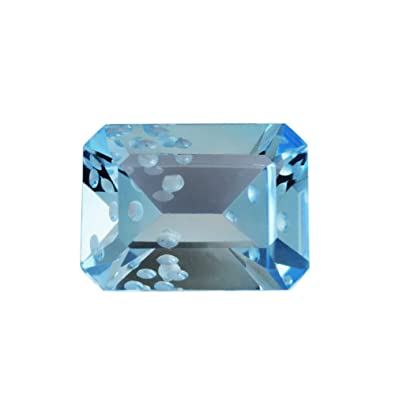Amazon com: 11 60 cts Swiss Blue Topaz 16x12x7 2 mm Faceted