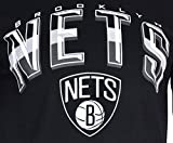 Ultra Game NBA Brooklyn Nets Mens Arched Plexi