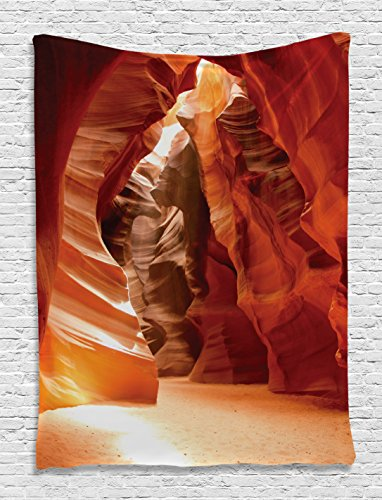 Americana Tapestry Decor by Ambesonne, Grand Canyon Cave in