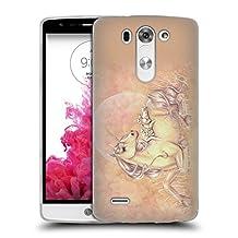 Official Selina Fenech Purrfect Friends Unicorns Soft Gel Case for LG G3 S / G3 Beat / G3 Vigor