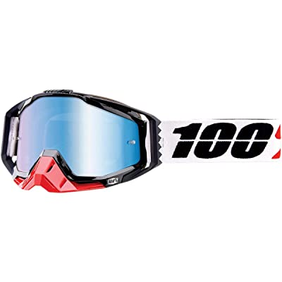 100% Racecraft Adult Off-Road Motorcycle Goggles - Marigot/Blue/One Size: Automotive