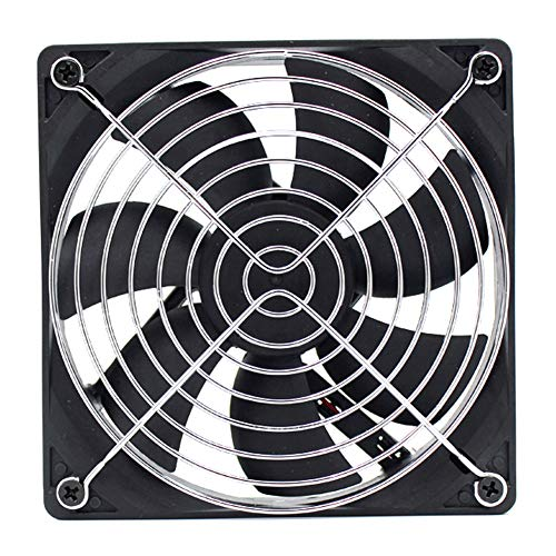 Office Cpu Cabinet - Computer CPU Fan, Portable Computer Cooling Fan 5V with Low Noise Home Office USB Fans 2300 RPM Metal USB Powered Cooling Fan Compatible for Laptop/TV Box/AV cabinet/PS4/Router