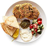 Amazon Meal Kits, Falafel Patties with Tomato & Sumac Salad, Serves 2