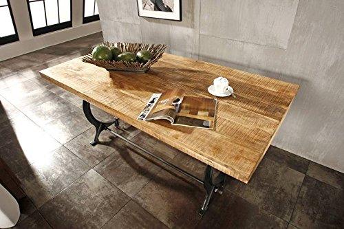 Tavolo Da Pranzo Industriale : Legno antico laccato industriale stile tavolo da pranzo