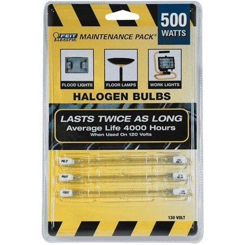 /Mp/130 500w Maintenance Pack Double Ended T3 Halogen Qtz Lt Bulb ()