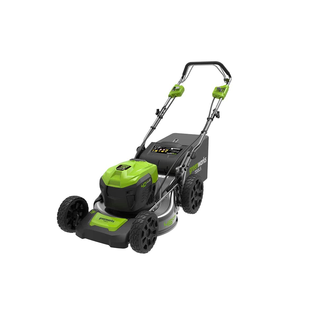Greenworks 2506807 Cortacésped de 46 cm Brushless con ...