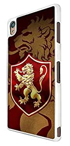 523 - Game of Thrones Sigil House Lannister Symbol Emblem Design For Sony Xperia Z Fashion Trend CASE Back COVER Plastic&Thin Metal