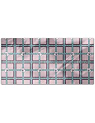 Fruit Blossom Check Rectangle Tablecloth Large Dining Room Kitchen Woven Polyester Custom Print