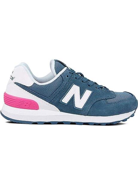 601993ba079 Tênis New Balance 574 Suede Feminino - Tamanho Calçado(38) Cores(azul