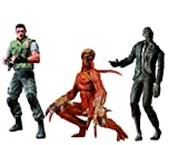NECA Resident Evil Archives Series 1 Set of 3 Action Figures Chris Redfield, Licker & Zombie with Dog