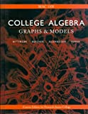 College Algebra: Graphs and Models (Fourth Edition), David A. Ellenbogen a Judith A. Beecher, 053613488X