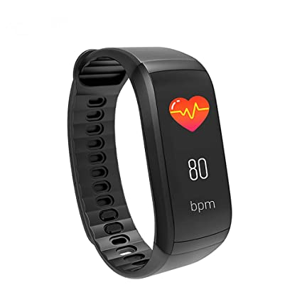 Amazon.com: QKa Fitness Tracker, Heart Rate Monitor Smart ...