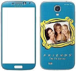 Zing Revolution Friends Premium Vinyl Adhesive Skin for Samsung Galaxy S4, Girls (MS-FRND20456)