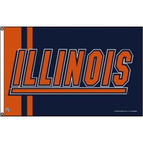 Illinois Fighting Illini NCAA 3'x5' Banner ()