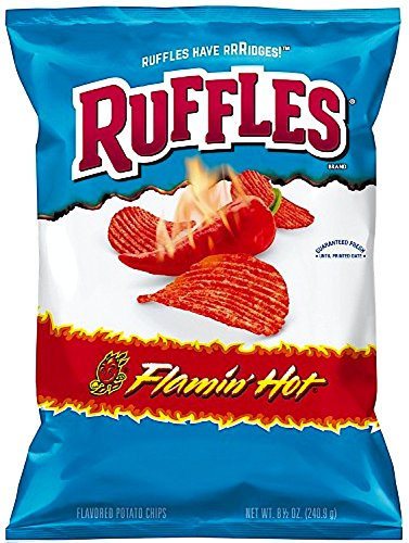 Bag Of Ruffles Potato Chips - 8