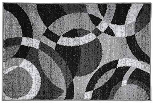 Amazon Com Rugshop Contemporary Modern Circles Abstract