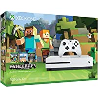 Xbox One S 500GB Console - Minecraft Bundle [Discontinued]