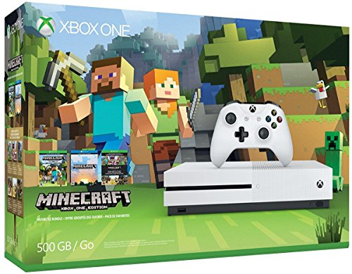 Xbox One 500GB Console Minecraft Bundle product image