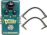 TC Electronic Viscous Vibe Pedal w/ Patch Cables
