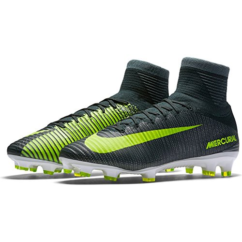 NIKE Mercurial Superfly V CR7 Firm Ground Cleats [Seaweed] (9.5)