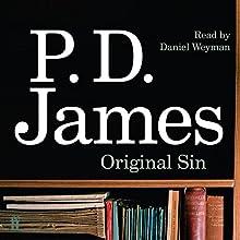 Original Sin Audiobook by P. D. James Narrated by Daniel Weyman