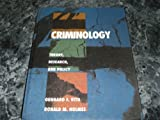 Criminology : Theory, Research, and Policy, Vito, Gennaro F. and Holmes, Ronald M., 0534148867