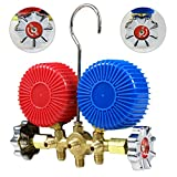 F2C 3.5CFM 1/4HP HVAC Air Vacuum Pump Kit with/AC