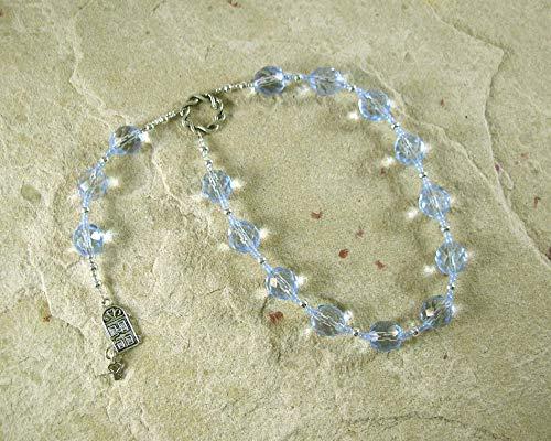 Cardea Pocket Prayer Beads: Roman Goddess of the Door-Hinge, Protector of Household and Threshold