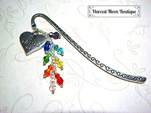 Chakra Wiccan Bookmark Blessed Be Pagan Accessory Diary Journal Book of Shadows Bookmark